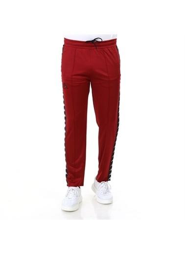Kappa Şeritli Pantolon Seırt  Bordo